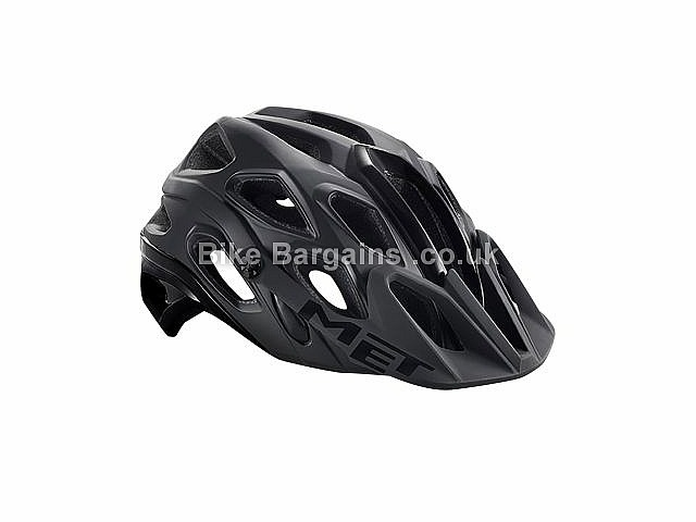 MET Lupo MTB Helmet L, Black, Blue, Yellow, White