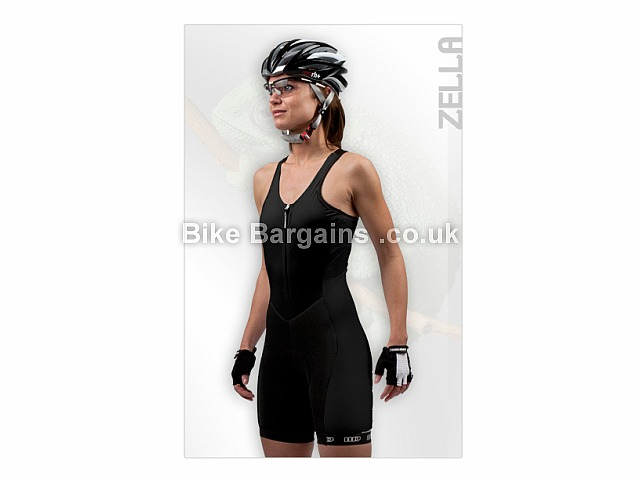 Moozes Zella Ladies Cycling Suit Black, XL