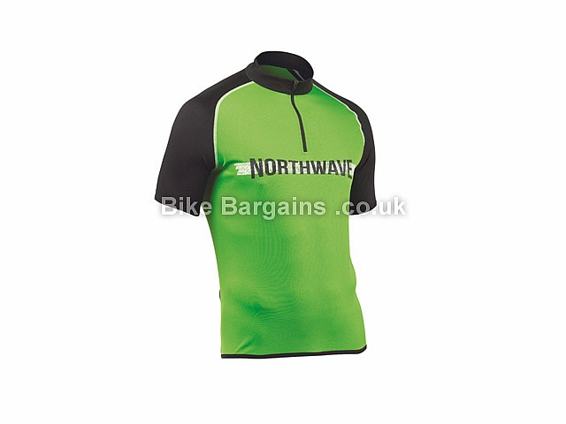 Northwave Rocker Short Sleeve Cycle Jersey Black, Green, XL