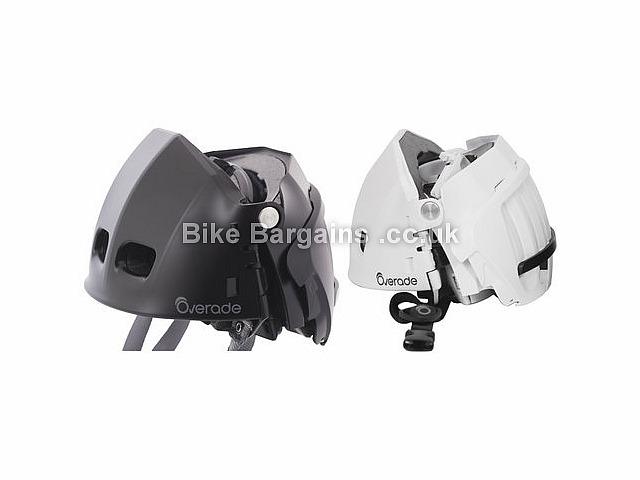 Overade Plixi Folding Bike Helmet S,M, White, 14 vents, foldable