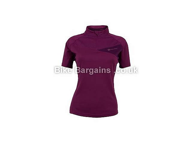Polaris Medusa Ladies MTB Short Sleeve Jersey 8,10,12,14,16, Green, Purple