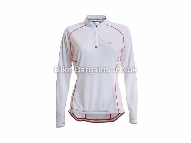 Polaris Sante Ladies Road Long Sleeve Jersey 8,10,12,14,16, White