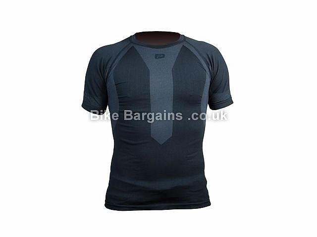 Polaris Torsion Short Sleeve Base layer XS,S, Black,Grey