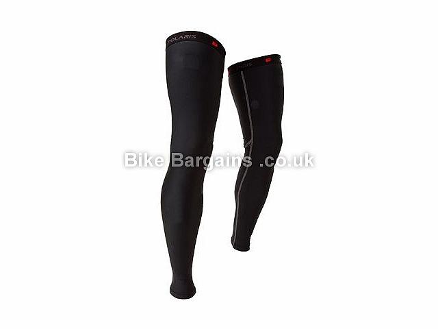 Polaris Venom Road Leg Warmers L,XL,Black