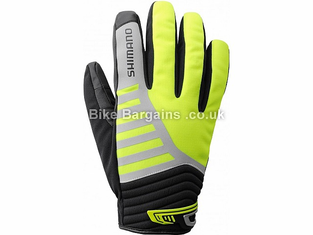 Shimano All Condition Thermal Cycling Gloves Black, Yellow, XL, XXL