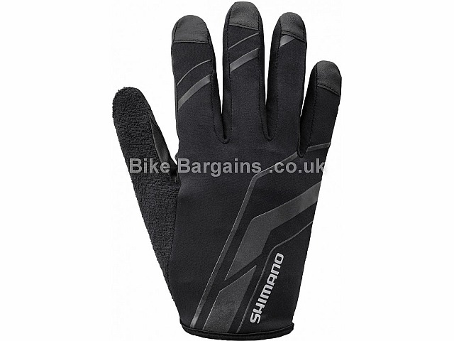 Shimano Early Winter 3D Cut Gloves Black, XL,XXL