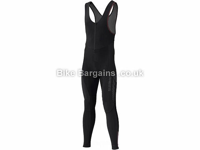 Shimano Performance Breakaway Windproof Bib Tights Black, S,M,L,XL,XXL