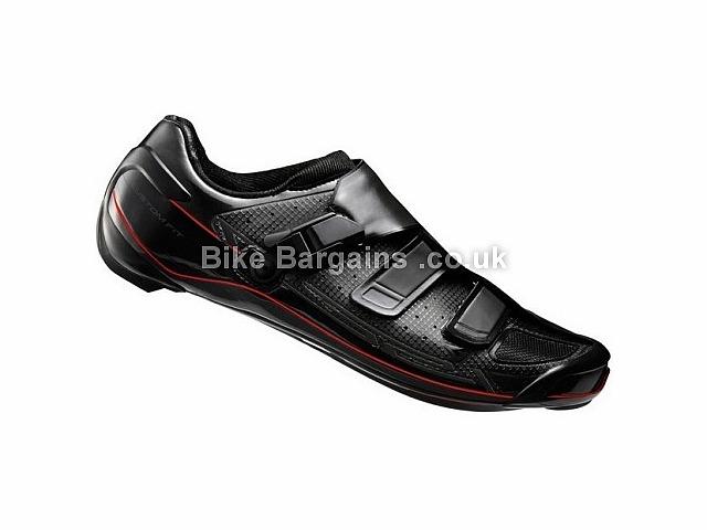 Shimano R321 Carbon SPD-SL Road Shoes Black, White, 40, 47