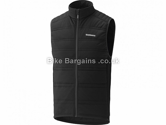 Shimano Tour Insulated Cycling Gilet Black, L, XXL