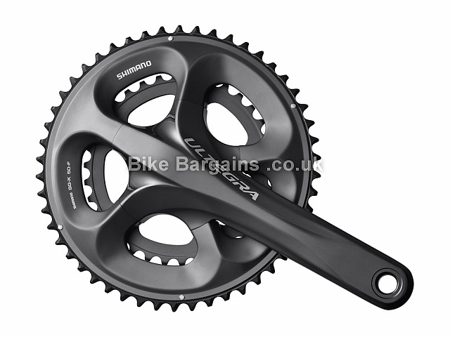 Shimano Ultegra 6700 10 Speed Road Cycling Chainset 785g, 10 speed