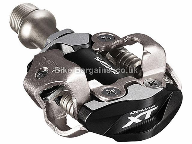 Shimano XT M8000 SPD MTB Pedals 340g XC MTB pedal, Black,Silver