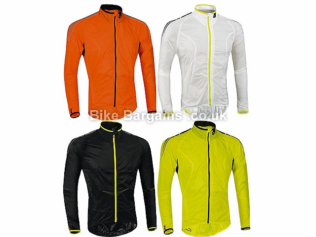 Specialized Comp Deflect Wind Waterproof Jacket M,L,XL, Black, White, Yellow, Orange