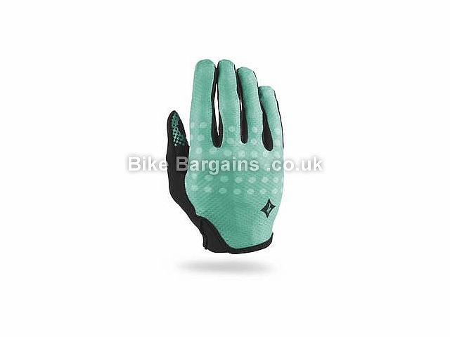 Specialized Ladies Body Geometry Grail Gloves Black, Green, L