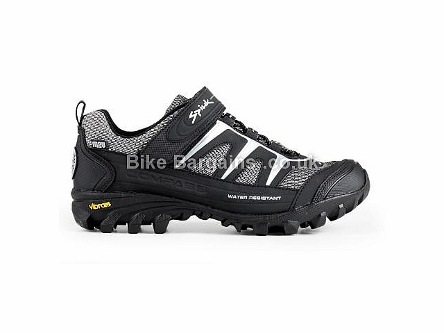 Spiuk Compass Velcro MTB Shoes 37, Black, Grey, Green, Blue