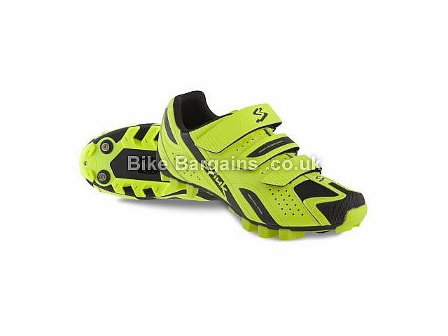 Spiuk Rocca Velcro MTB Shoes Yellow, Black, Orange, White, 37