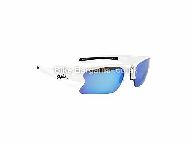 Spiuk Torsion Cycling Sunglasses White, Blue, Red, Green, Black