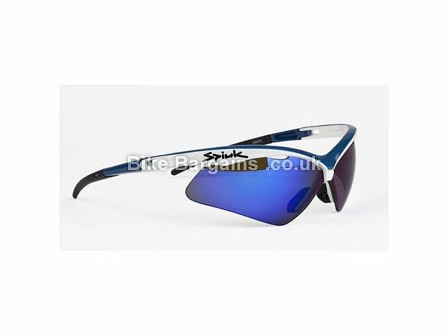 Spiuk Ventix Cycling Sunglasses Blue, White, Red, Black