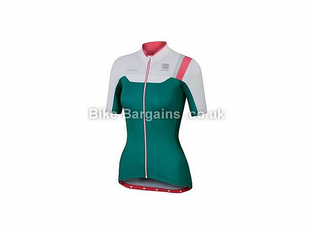 Sportful Ladies Bodyfit Pro Air Mesh Short Sleeve Jersey L, Turquoise