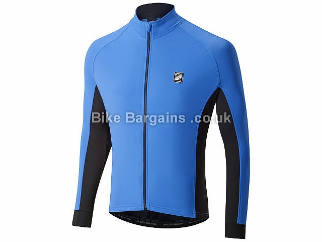 Altura Peloton Long Sleeve Jersey M, Blue, Black