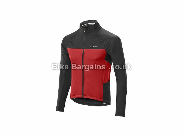 Altura Podium Elite Thermo Shield Waterproof Jacket 2017 XL, Black, Red, Men's, Long Sleeve