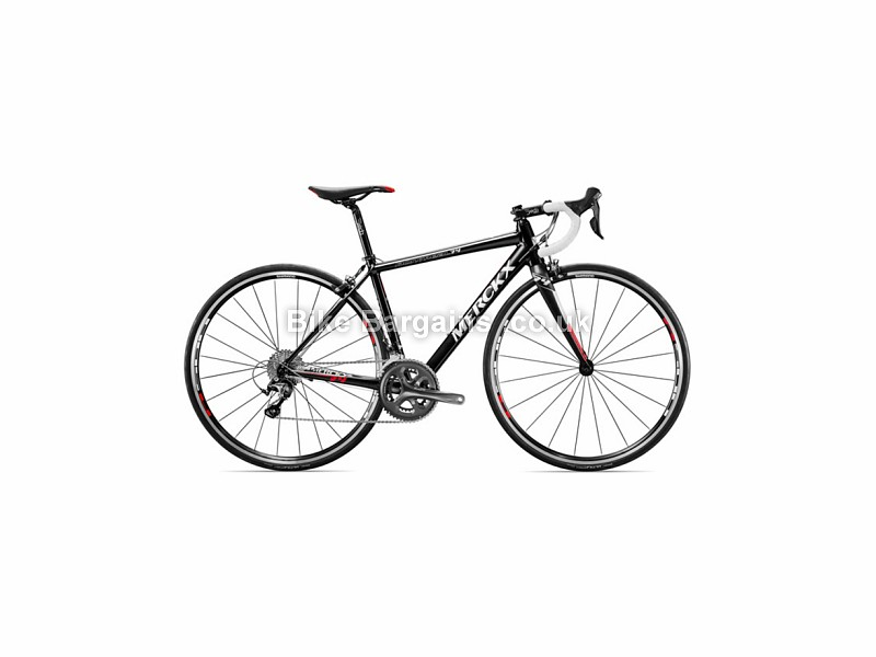 Eddy Merckx Montreal 74 Alloy Shimano 105 Ladies Road Bike 2016 50cm, Black, Silver