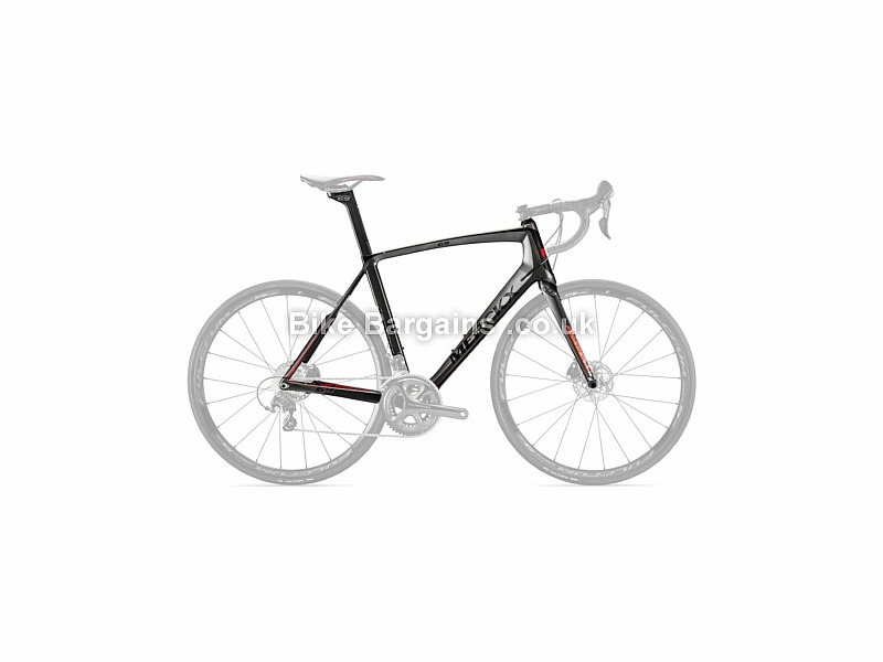 Eddy Merckx Mourenx 69 Carbon Disc Road Frameset 2016 XL, Black, Red, Carbon, 1450g, Disc, 700c