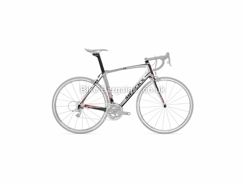 Eddy Merckx Mourenx 69 Carbon Caliper Road Frameset 2016 XXL, Black, Grey, Red, Silver, Carbon, 990g, Caliper Brakes, 700c