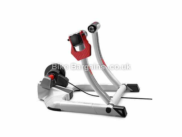 Elite Qubo Power Mag Smart Turbo Trainer White, Silver