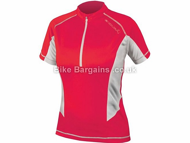 Endura Ladies Pulse Short Sleeve Jersey 2017 S,M, Pink