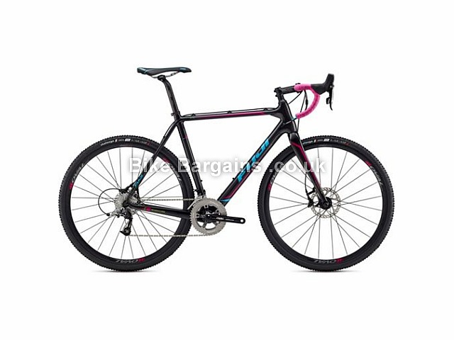 Fuji Altamira 1.5 Carbon CycloCross Bike 700c, 52cm, 56cm, 58cm, Carbon, Black