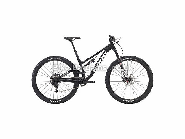 "Kona Process 111 29"" Alloy Full Suspension Mountain Bike 2016 Black, M"