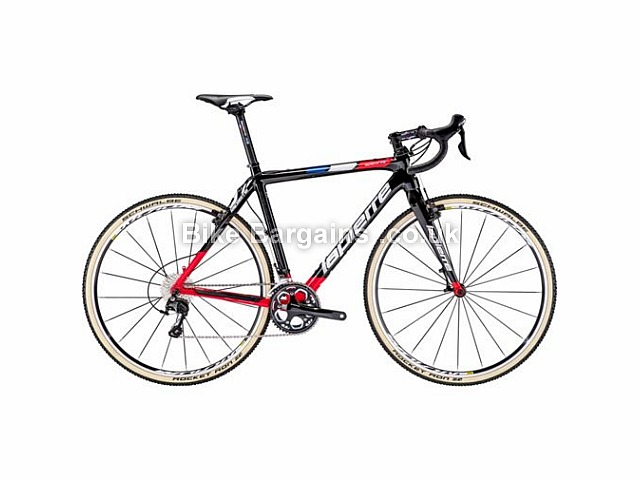 Lapierre CX Carbone FDJ Carbon Cyclocross Bike 54cm, 700c, Black, Red, White, Carbon