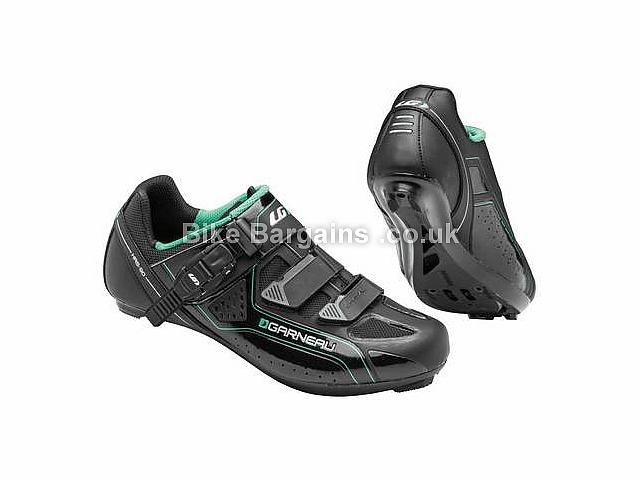 Louis Garneau Ladies Cristal Road Cycling Shoe 36, 37, 38 are £19! - 39, 40, 41, 42, Black