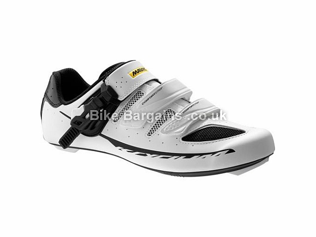 Mavic Ksyrium Elite II Maxi Fit Carbon Road Shoes 40, 41, 42, 43, White, Black