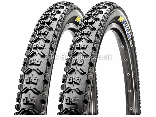 Maxxis Advantage 26 Inch Mtb Tyres Pair Was Sold For 25 Wire 26