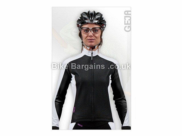 Moozes Geja Ladies Windproof Cycling Jacket M,L,XL,XXL, White, Black, Blue