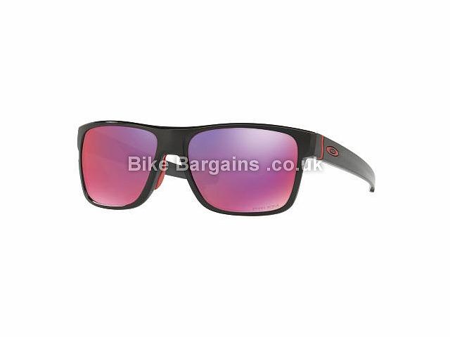 Oakley Crossrange Prizm Road Sunglasses Black