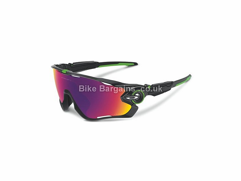 Oakley Mark Cavendish Jawbreaker Road Cycling Sunglasses Polished Black