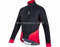 Santini Beta Windstopper XFree 210 Road Cycling Jacket