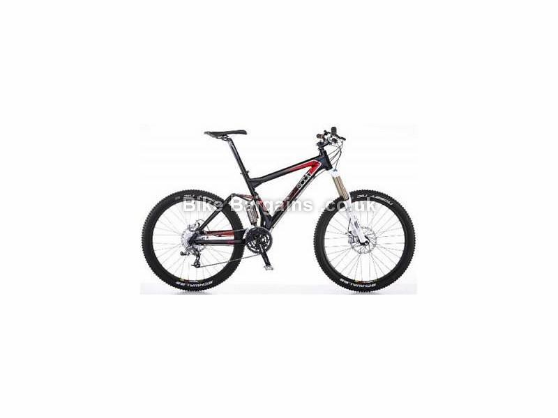 Scott Genius 40 Alloy Full Suspension Mountain Bike 2016 S, M, Black, Red