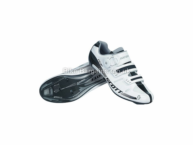 Scott Ladies Rc Carbon Road Shoe Was Sold For 163 50 40 White