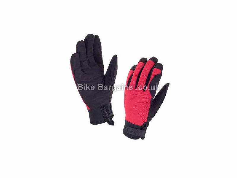 Sealskinz Waterproof Dragon Eye MTB Cycling Gloves winter black