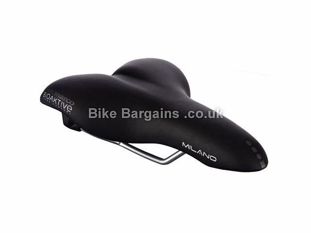 Selle San Marco Milano Glamour Gel Saddle 327g, Black