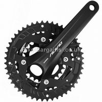 Shimano Alivio T4060 9 Speed Triple alloy MTB Chainset