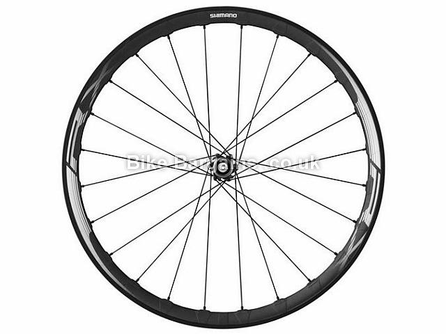 Shimano RX830 Carbon Disc Front Road Wheel Carbon Rim, 700c, Black