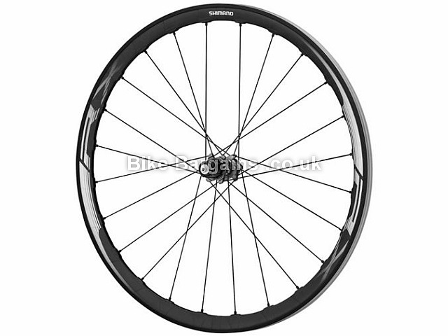Shimano RX830 Carbon Disc Rear Road Wheel Carbon Rim, 700c, Black