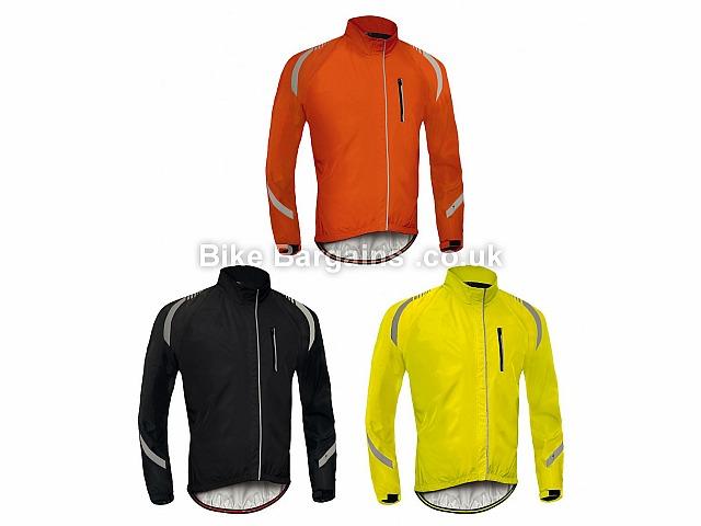 Specialized Deflect Rbx Elite Hi-Visibility Cycling Rain Jacket 2017 S, M, Orange, Yellow, Black