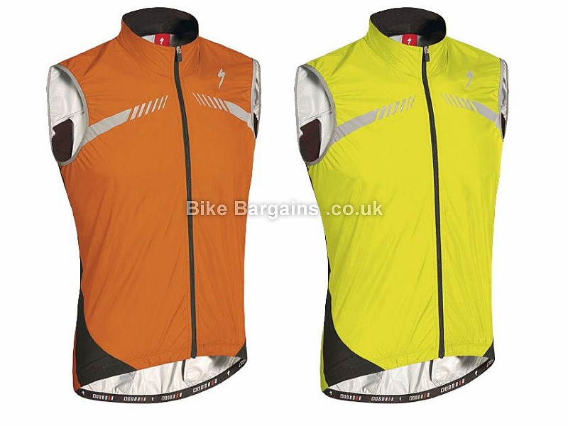 Specialized RBX Elite High Visibility Safety Vest Gilet XL, Yellow