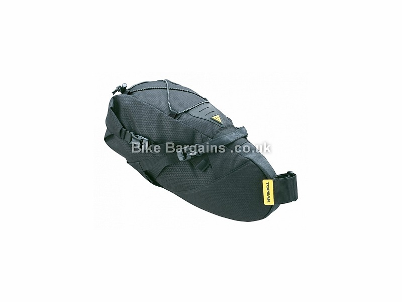 Topeak Backloader Saddle Bag Pannier Black, 10 Litres
