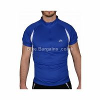 More Mile Blue Short Sleeve Jersey
